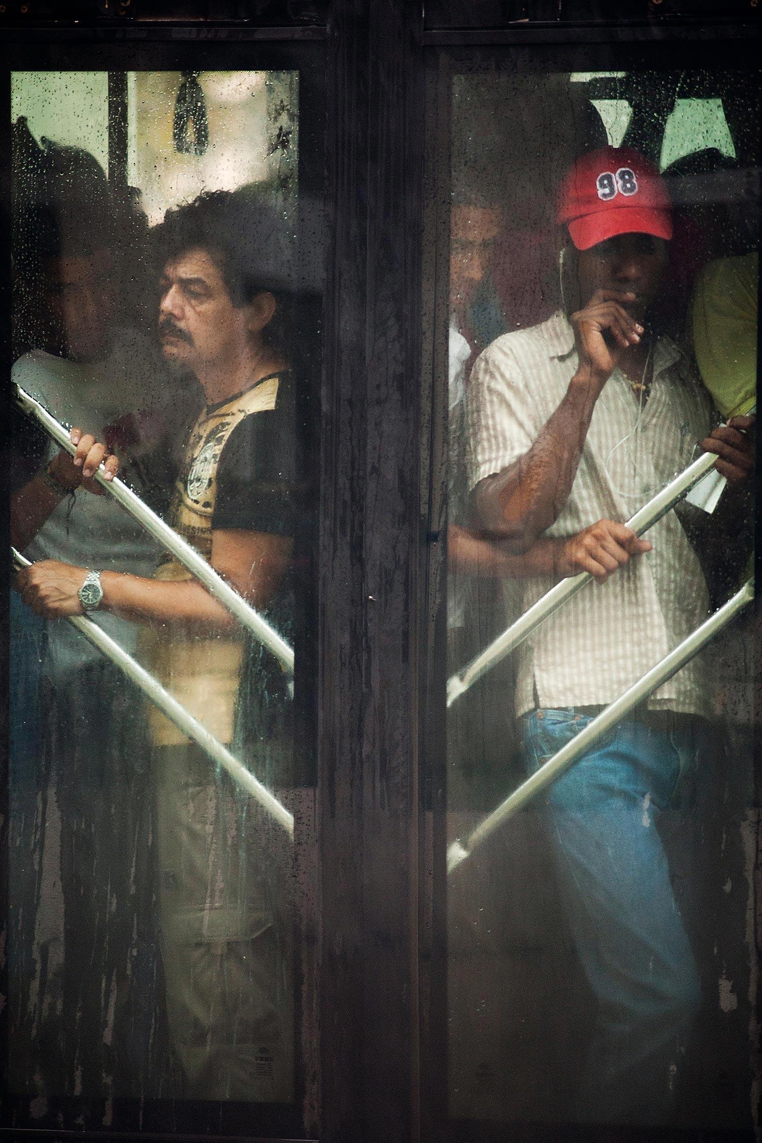 Busfahren in Havanna